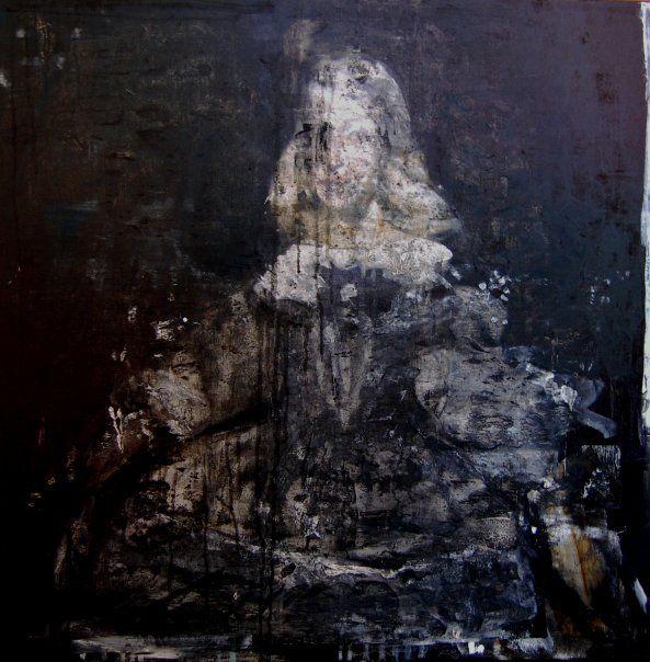 Giuseppe Bombaci - Presunto Ritrato - olio su tela - 70x70 cm - 2009@Facebook
