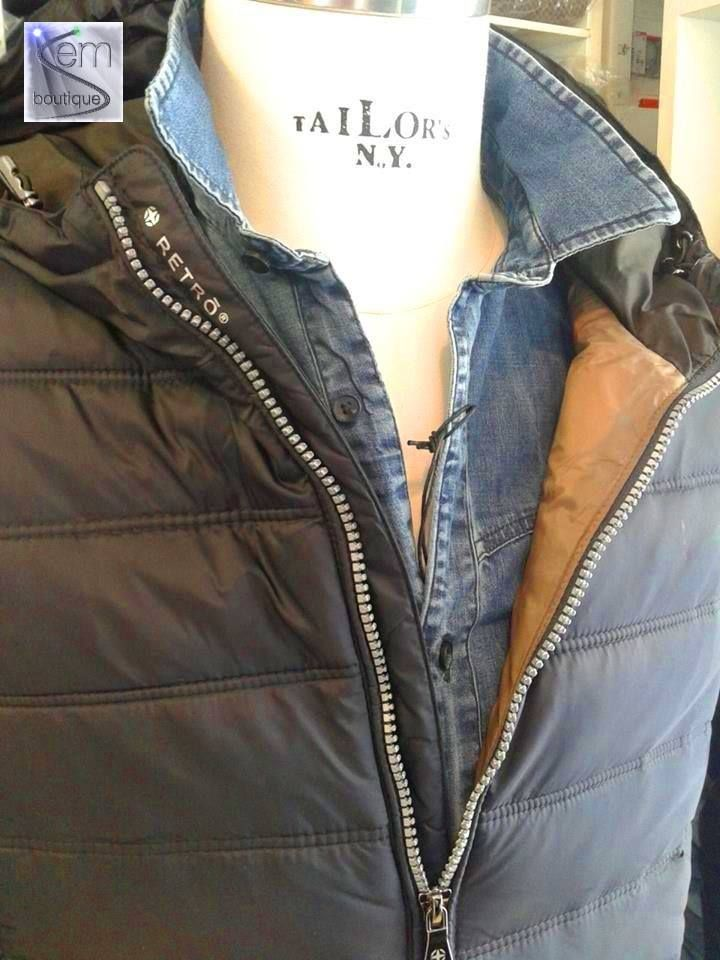 In Store: fall winter 2014.15 - piumino RETRO' - camicia SSEINSE https://www.facebook.com/semboutique.it