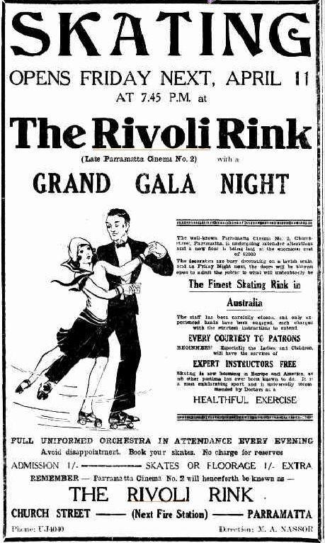 Parramatta Heritage: The Rivoli. Parramatta's Bygone Entertainment Venue. History