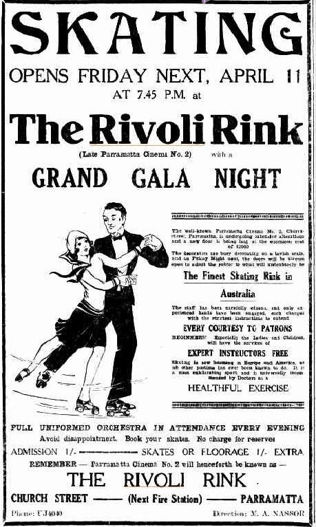 Parramatta Heritage: The Rivoli. Parramatta's Bygone Entertainment Venue