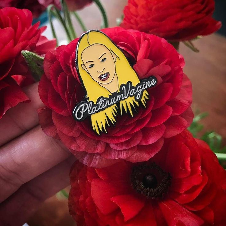 """#Repost @sallyjessypins WILL YOU ACCEPT THIS VAGINE? love her!! Corinne """"Platinum Vagine"""" pins now up in the shop! #corinne #bachelor #bachelornation #thebachelor #vagine #platinumvagine #enamelpin #pingame #pinsofig (Posted by https://bbllowwnn.com/) Tap the photo for purchase info. Follow @bbllowwnn on Instagram for great pins patches and more!"""