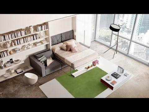 Zajímavý skládací nábytek, který řeší malý byt
