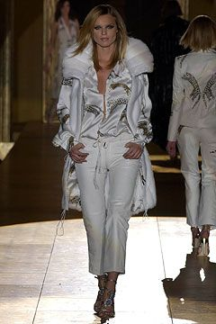 online hats shopping Roberto Cavalli Autumn/Winter 2002-3 Ready-To-Wear