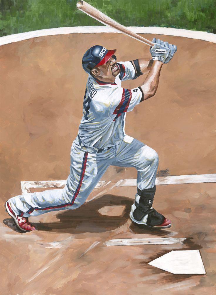 Paul Konerko, Chicago White Sox by Dan Stromme