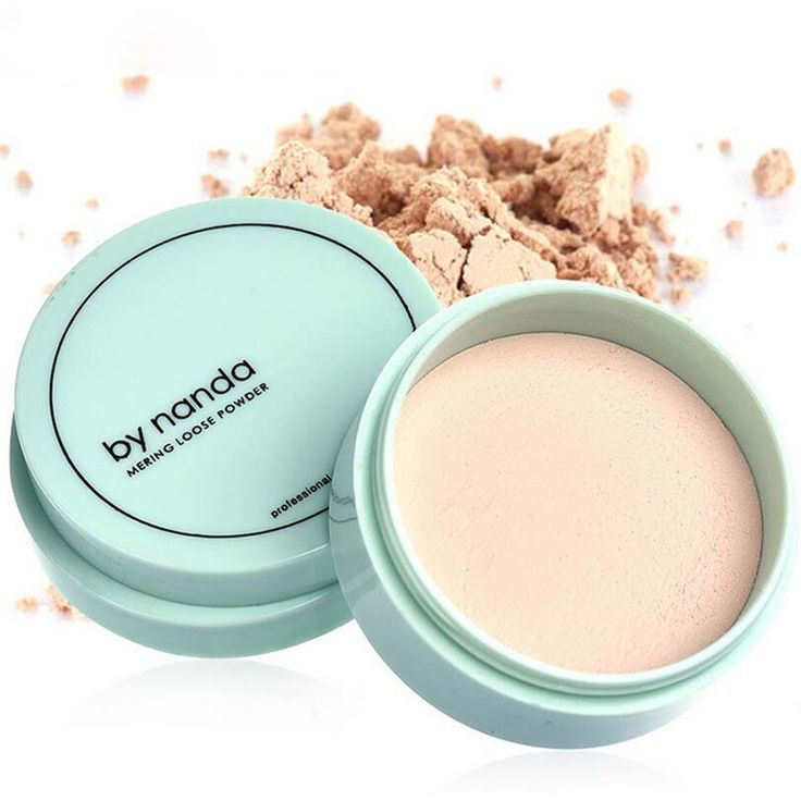 3 Color Translucent Pressed Powder with Puff