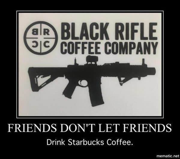 Winning! On Wednesday, Black Rifle Coffee Company (BRCC), a veteran owned coffee business announced that they will be looking to hire 10,000 veterans. This comes on the heels of Starbucks CEO, Howa…