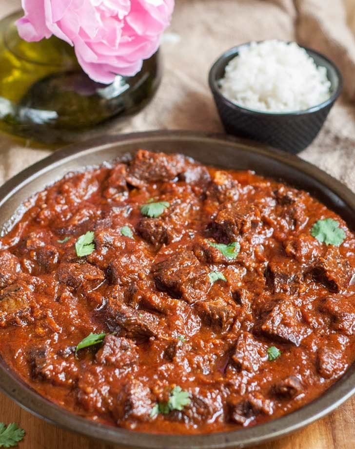 31 Indian Inspired Recipes To Make For Dinner Purewow Curry Recipes Beef Masala Beef Curry Recipe