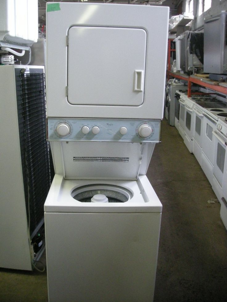 Washer And Dryer on Pinterest  Stacked washer dryer, Stackable washer ...