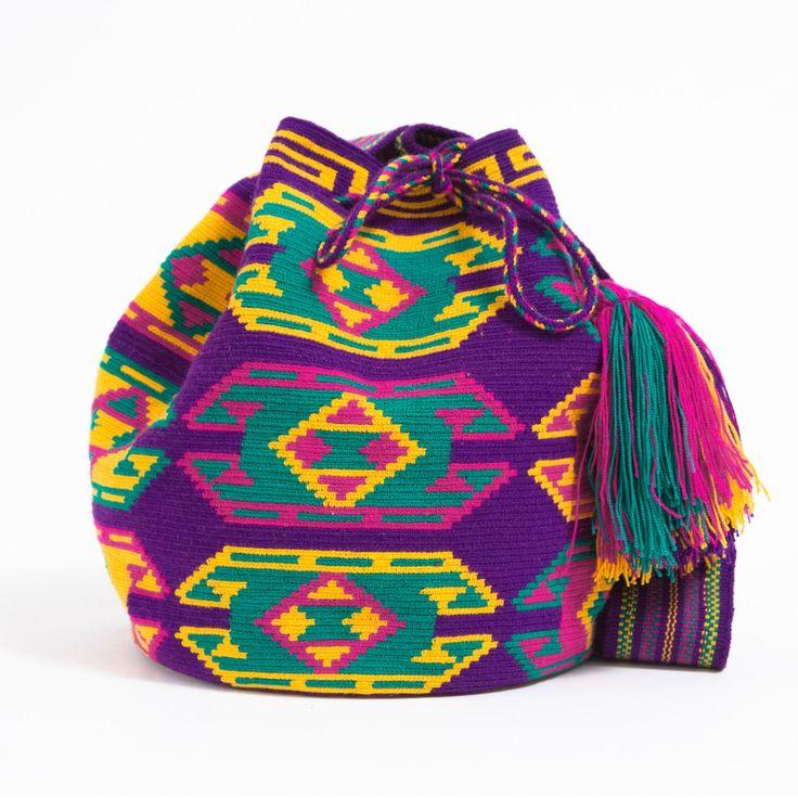 Hermosa Wayuu Mochila Bag www.wayuutribe.com