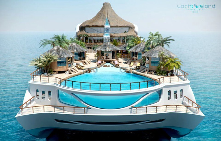 ah, yes please: Ultimate Spider-Man, Crui Ships, Yachts Design, Swim Pools, Palms Trees, Tropical Islands, Ocean View, Heavens, Super Yachts
