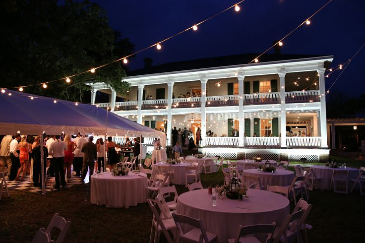 A Wedding Reception Held At Historic Antebellum Home Grass Lawn In Gulfport Mississippi On June 8 2013