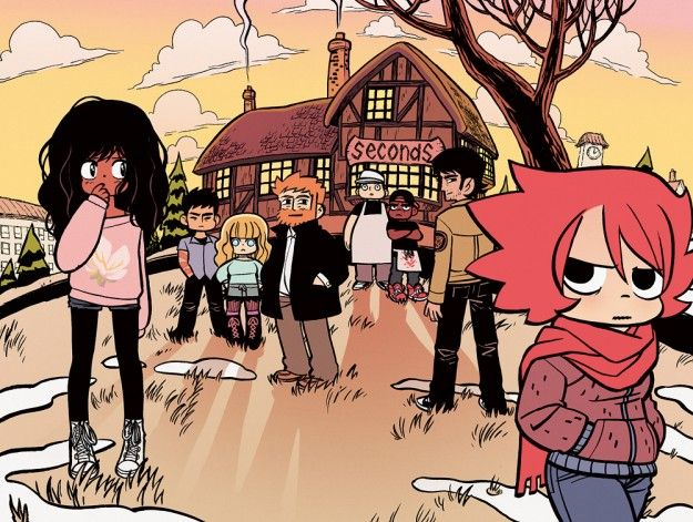 SECONDS (2013) A new book by Scott Pilgrim creator Bryan Lee O'Malley!!