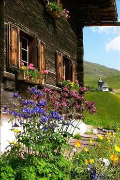 Tschuggen Grand Hotel near Arosa, Switzerland