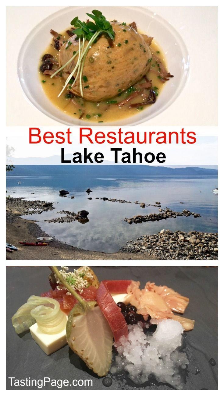 Lake tahoe sunset travel channel pinterest - Best Lake Tahoe Restaurants Tastingpage Com