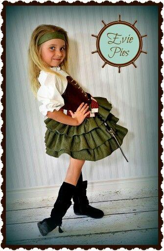 Evie Pies Zarina pirate fairy dress.