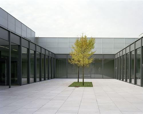 Innenhof Museum Folkwang