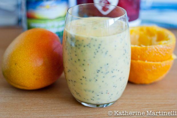 how to make an orange smoothie