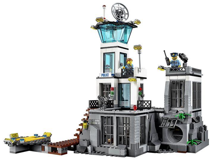 Amazon.com: LEGO CITY Prison Island 60130: Toys & Games ...