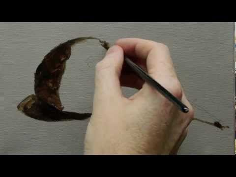 ▶ Beginners Acrylic Still Life Painting Techniques - Part 1 - YouTube