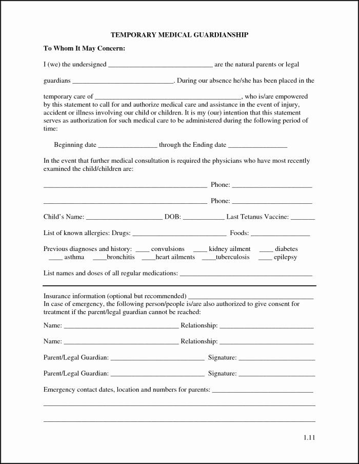 Free Guardianship Letter Template from i.pinimg.com