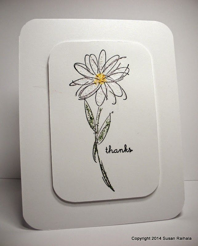 Best 25 daisy drawing ideas on pinterest spine tattoos daisy handmade card from simplicity blog clean and simple layout one ccuart Image collections