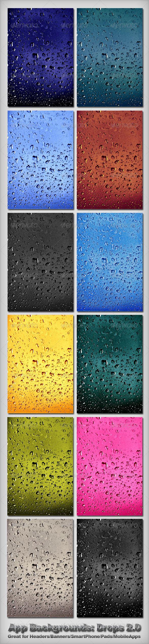App Backgrounds - Drops 2.0