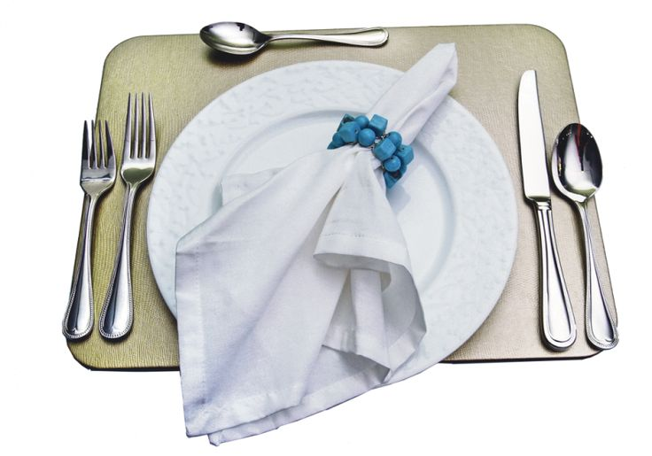 Individual redondo $48.000, set de cubiertos para 4 personas (20 piezas)…