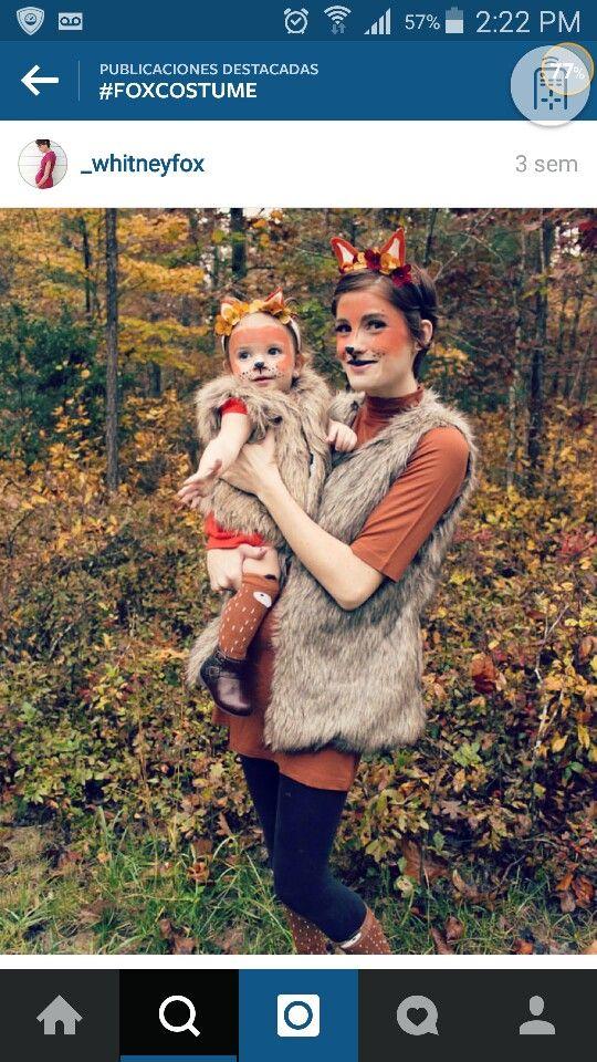 Lovely fox costume