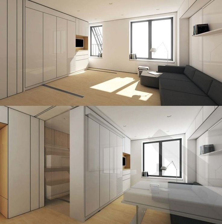 The 'Swiss Army Knife' Of Studio Apartments Transforms Before YourEyes - All - New Rising Media