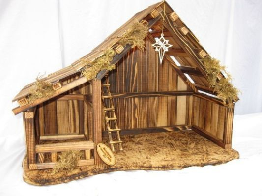 1000+ ideas about Nativity Stable