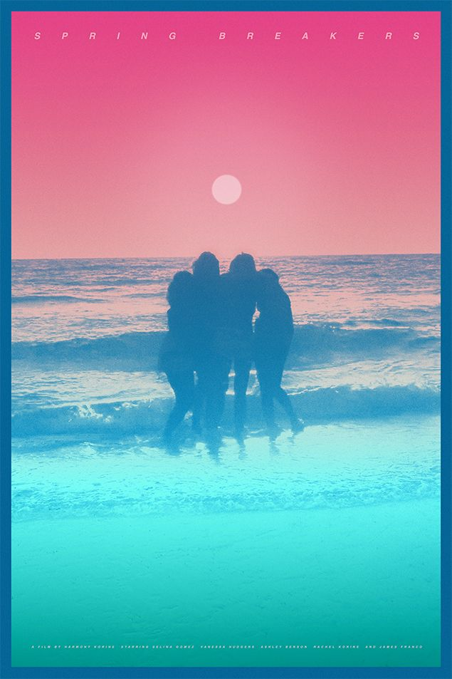 Spring Breakers gets the psychedelic poster it deserves / The Dissolve