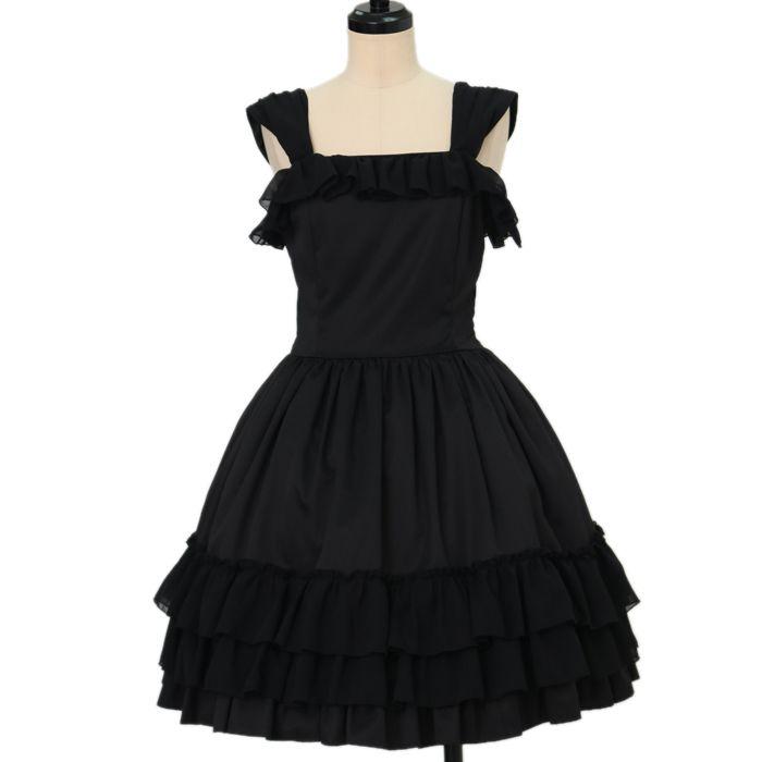 Worldwide shipping available ♪ Lolita Fashion ☆ ·. . · ° ☆ Frill chiffon dress https://www.wunderwelt.jp/en/products/w-16361  IOS application ☆ Alice Holic ☆ release Japanese: https://aliceholic.com/ English: http://en.aliceholic.com/