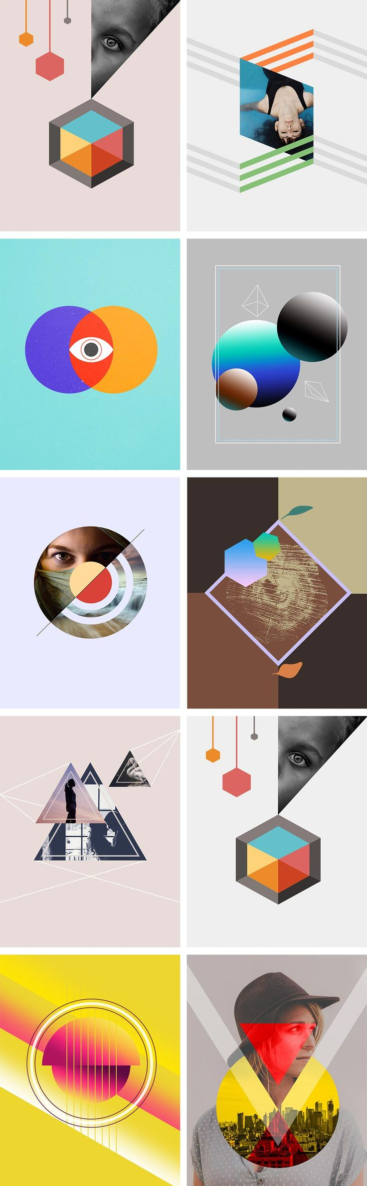 #Abstract #Vector Forms And #Shapes
