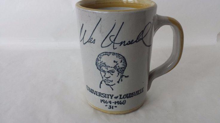 Wes Unseld University Of Louisville Basketball 1964-1968 No. 31 Stoneware Coffe