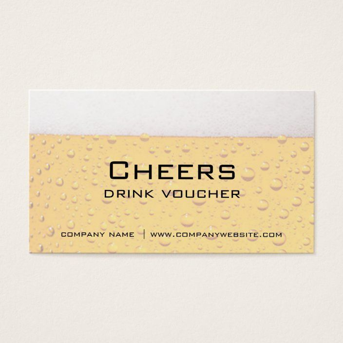 Bar Restaurant Or Brewery Drink Vouchers Zazzle Com Coupon Template Brewery Drinks
