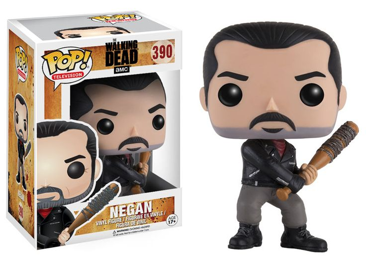 Funko releasing Negan pop vinyl from The Walking Dead