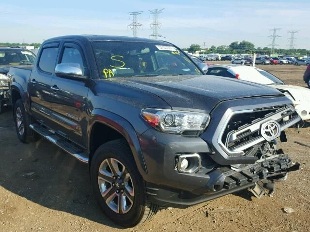 2016 Toyota Tacoma Double Cab Pickup For Sale | Salvage Title