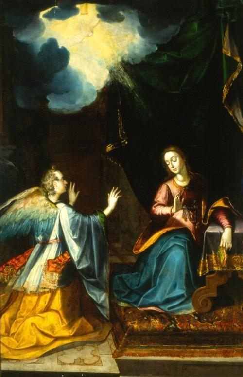 La Anunciación – Works – Museo Nacional de Arte