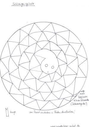 schablonen-2/Schablone-Schlangenspirale