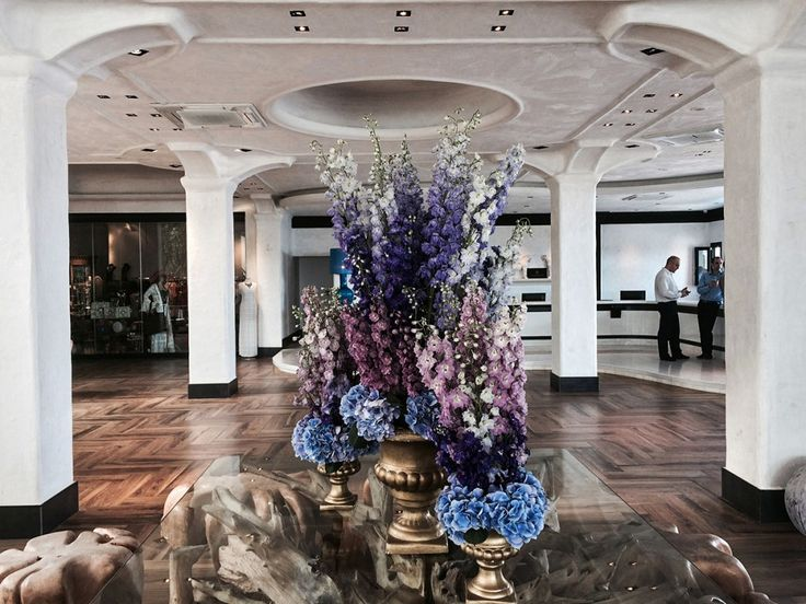 Interior at the Royal Myconian!