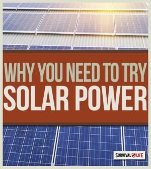 Reasons and alternative survival skills to add your solar power energy backup plan. | http://survivallife.com/2014/12/26/solar-power-backup-plan/#