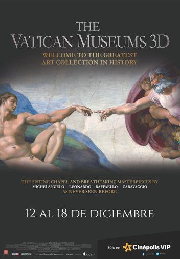 CINÉPOLIS PRESENTA EN EXCLUSIVA UN RECORRIDO EN 3D POR EL MUSEO DEL VATICANO - http://masideas.com/2014/12/15/cinepolis-presenta-en-exclusiva-un-recorrido-en-3d-por-el-museo-del-vaticano/