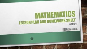 Lesson plan,worksheet and memo