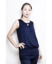 Annee Matthew - Keyhole Maternity/Nursing Tunic -$69.00