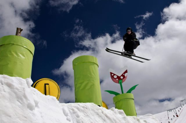 Mario Snowpark
