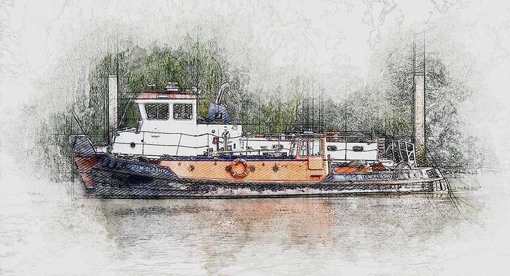 River boat, Thames River