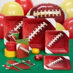 Make it a touchdown and get the victory with these Football party supplies perfect for setting up a Football birthday celebration