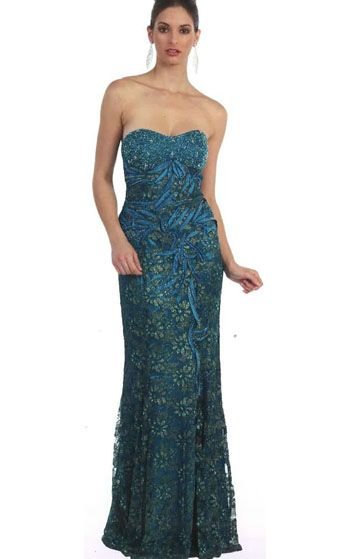 stunning mermaid gown with embellishment throughout the gown. Sold in many different colours! Perfect for mother of the bride/groom and prom!!