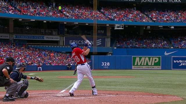 MIL@TOR: Rasmus' solo home run