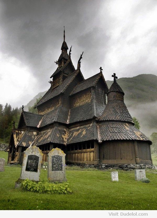 12th Century Wooden Church | Borgund, Sogn og Fjordane, Norway